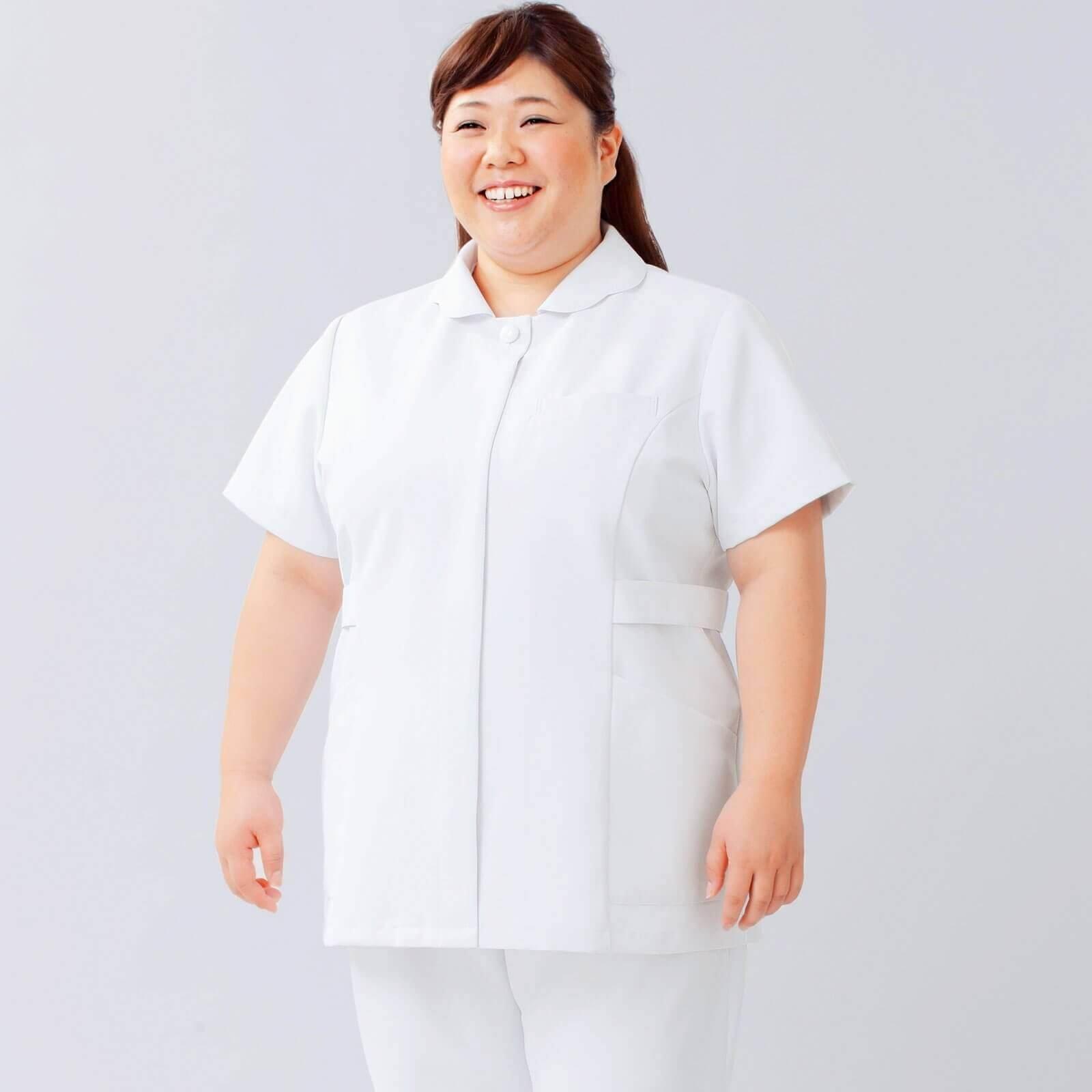 ・大きなサイズの白衣(オリジナル)